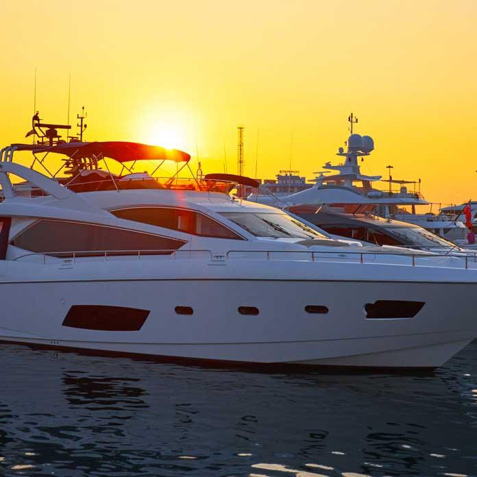 yacht boat tinting